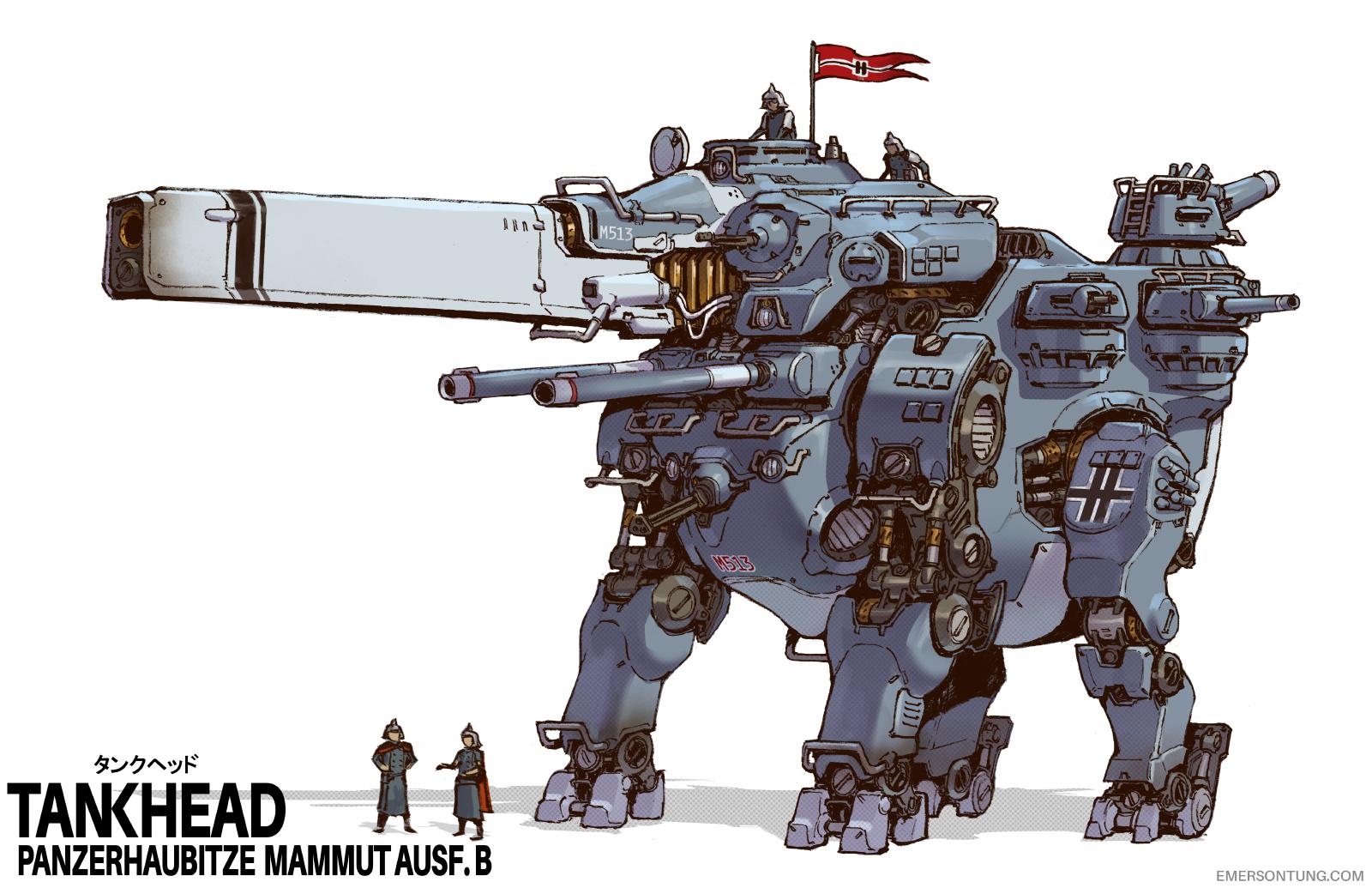 Mammut Heavy Tankhead
