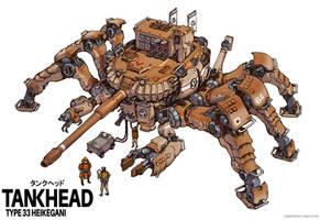 Heikegani Crab Tankhead