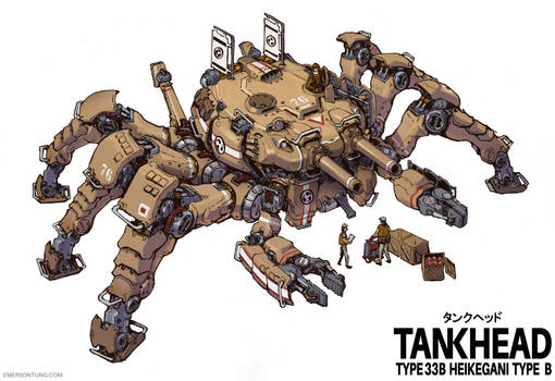 Heikegani Crab Tankhead Type-B