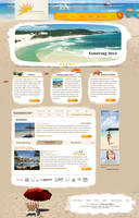 Travel website by lukearoo