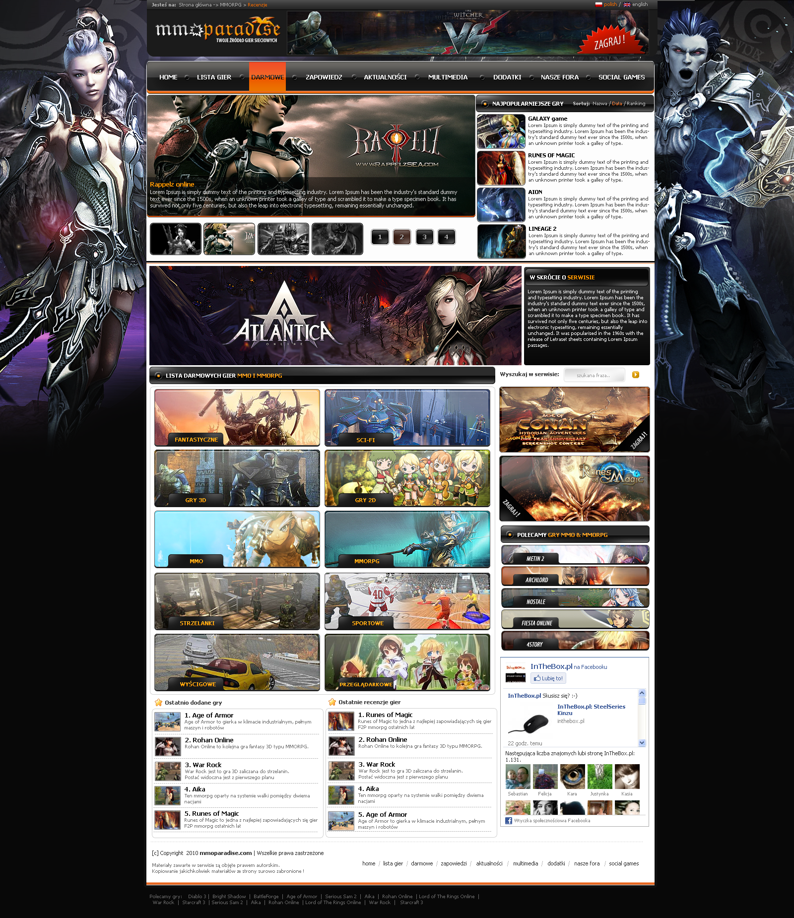 mooparadise.com mmo and mmorpg