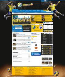 IskraKielce - handball site by lukearoo