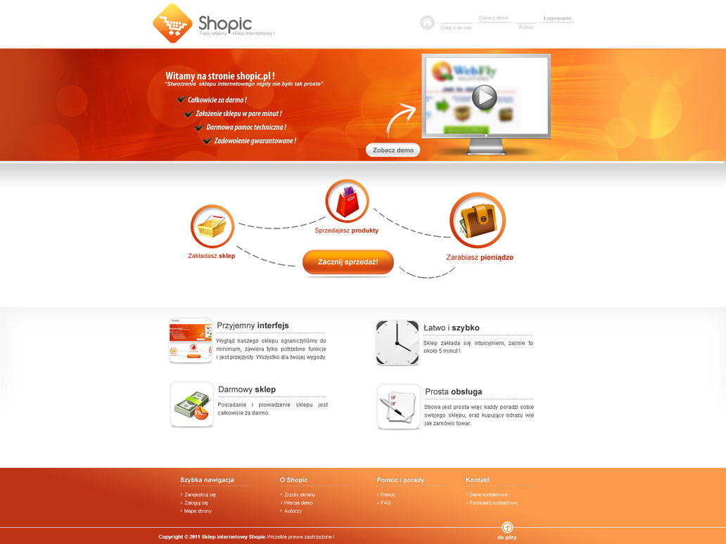Shopic - Create your shop by lukearoo