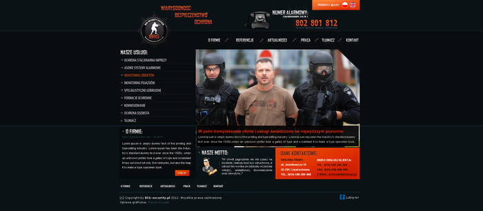 BIG - Security System site