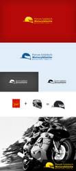 Motorcyclists logo by lukearoo