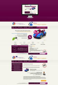 Webdesign 4 loans company