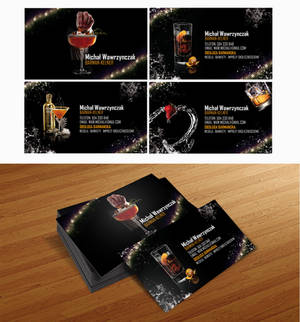 Business card 4 barman