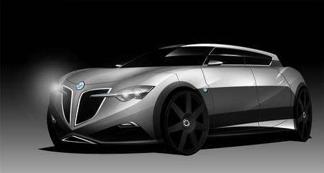 BMW 2-series 4door by Ghost21501