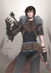 Dragon Age 2 - Hawke by kaariXD