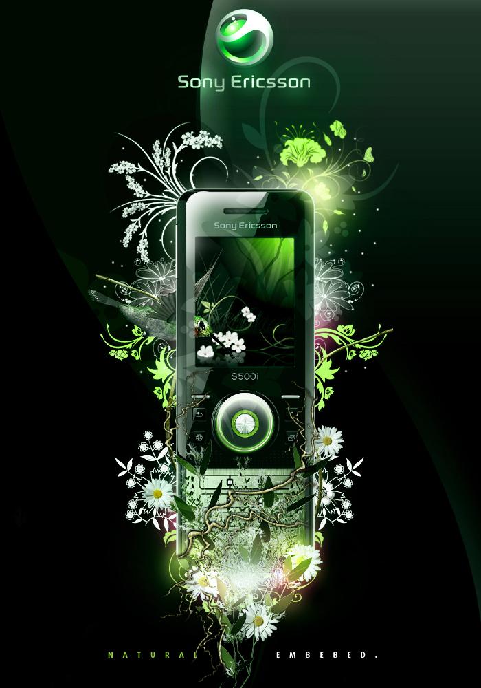 Sony Ericsson S500i by eduardoBRA