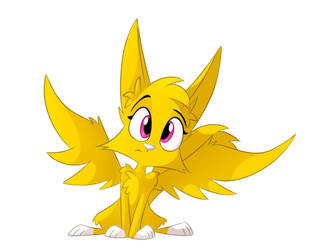 golden winged fox i guess