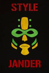 Style Jander - Poster Jes by David-nator