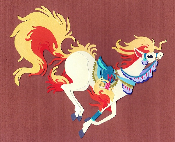 cut paper ponyta by whatwith