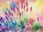 Art lives in flowers