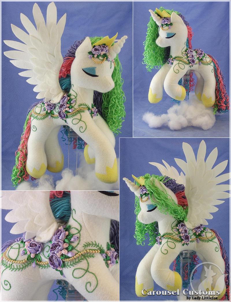 Rainbows - Jeweltone Celestia by LadyLittlefox