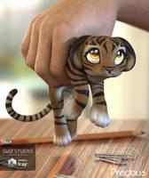 Precious Tiger by LadyLittlefox