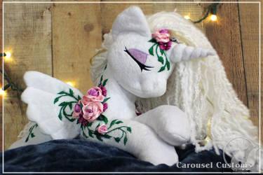 Carousel Custom - Gaia Alicorn- Sold by LadyLittlefox