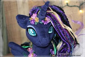 Gypsy Rose Luna Alicorn OC - SOLD by LadyLittlefox