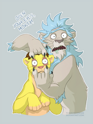 Open Your Eyes, Morty! by YurikoSchneide