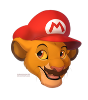 It's a me, Simbario! by YurikoSchneide