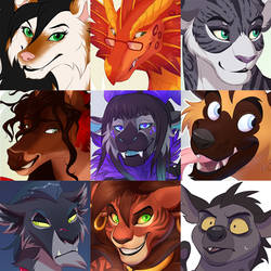 FaceYourArt#Ferals and Furries