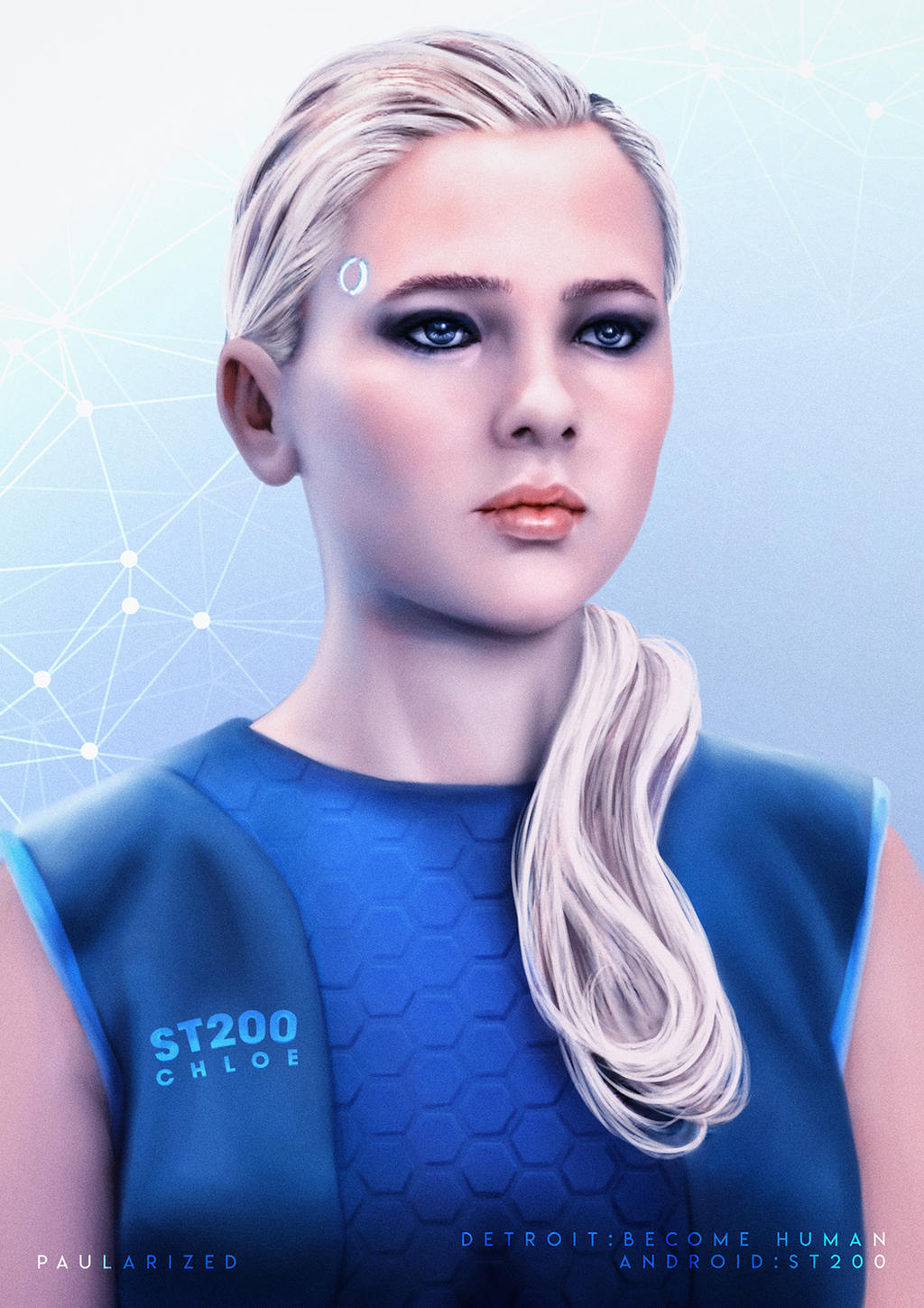 Detroit Become Human Android Chloe By Paularized On Deviantart