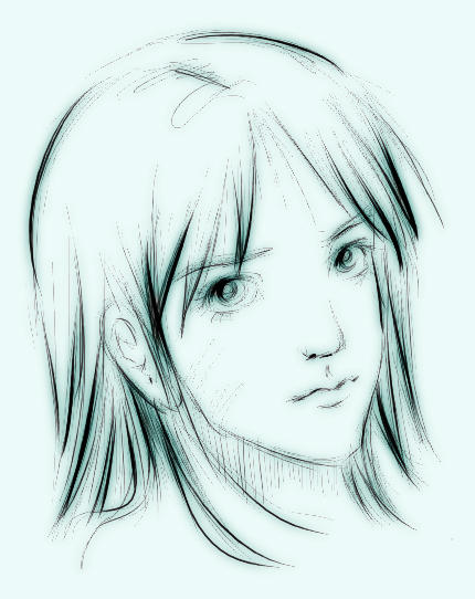 sketch girl by emi-chan