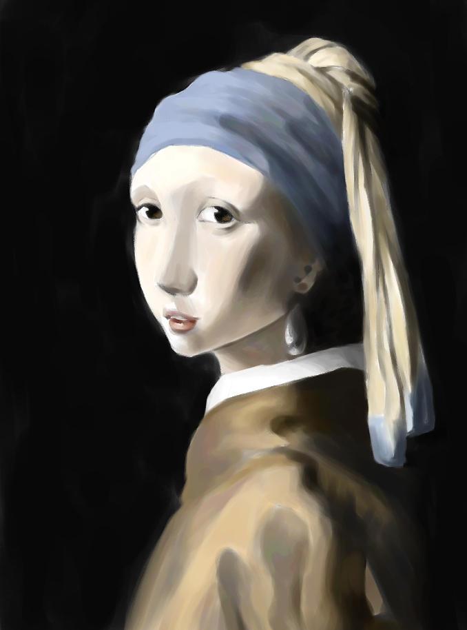 emi - vermeer study by emi-chan