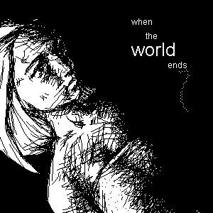 when the world ends - emi by emi-chan