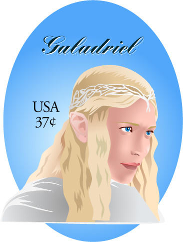 Soon-to-be Galadriel Stamp by emi-chan