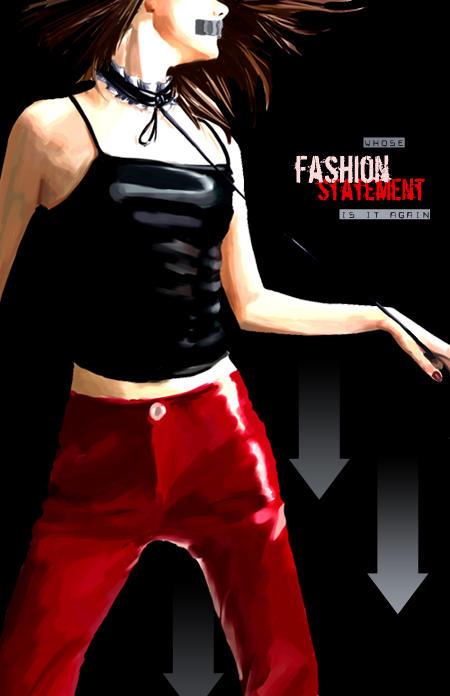 anti-fashion campaign by emi-chan