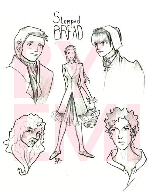 Stomped Bread by emi-chan