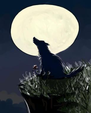 mandos wolf by emi-chan