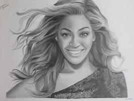 Beyonce by Art-Ablaze