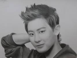 Chanyeol by Art-Ablaze