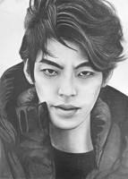 Kim Woo Bin by Art-Ablaze