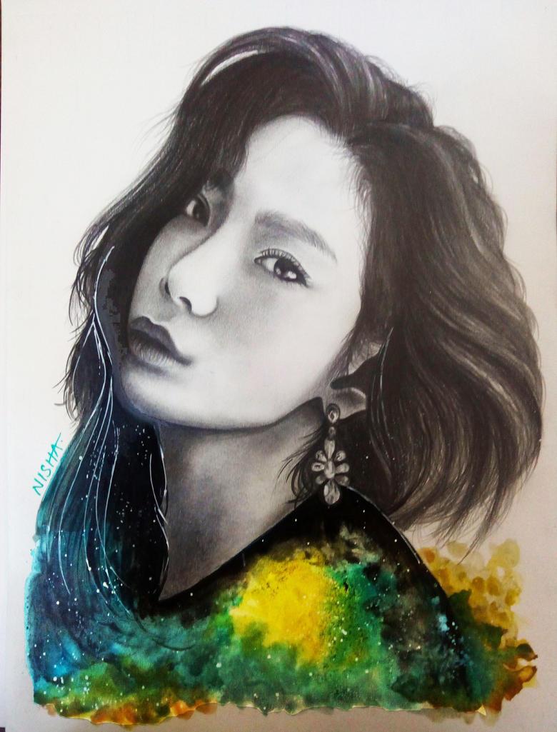 It's not Fine - Kim Taeyeon by Art-Ablaze
