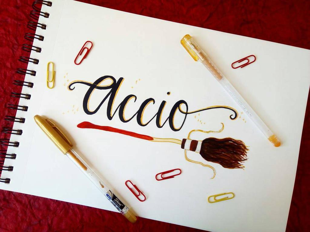 Accio! by Art-Ablaze