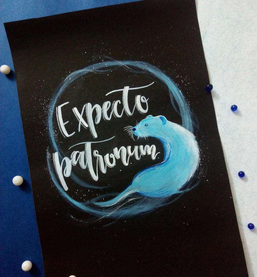 Expecto Patronum! by Art-Ablaze