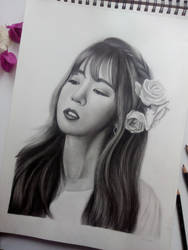 #7YearsWithApink - Chorong by Art-Ablaze