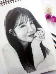 #7YearsWithApink - Jung Eunji by Art-Ablaze