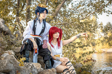 Magi: The Labyrinth of Magic Cosplay (3) by Alex-Willow