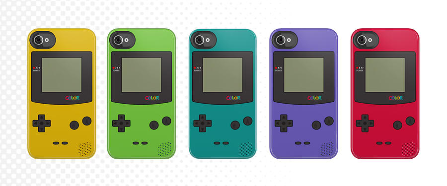 quality design 28d36 af961 Gameboy Color iPhone Case - 4s, 4, 3gs, iPod Touch by V-spitter on ...