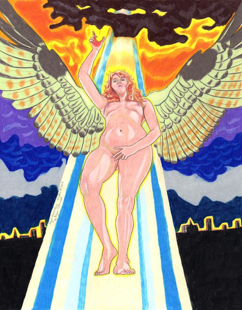 Angel Descending by Sythbane