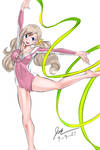 Rebecca Dancing Study by MrManBob