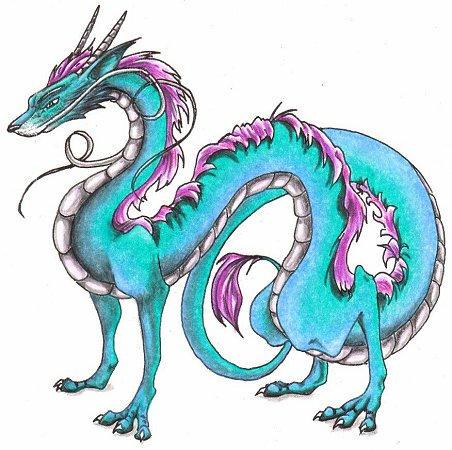 Spirited Away Dragon by PsyMist on DeviantArt