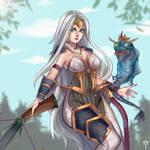 Paladins - Cassie Dragoncaller