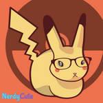 Nerdy Bunny as Pikachu