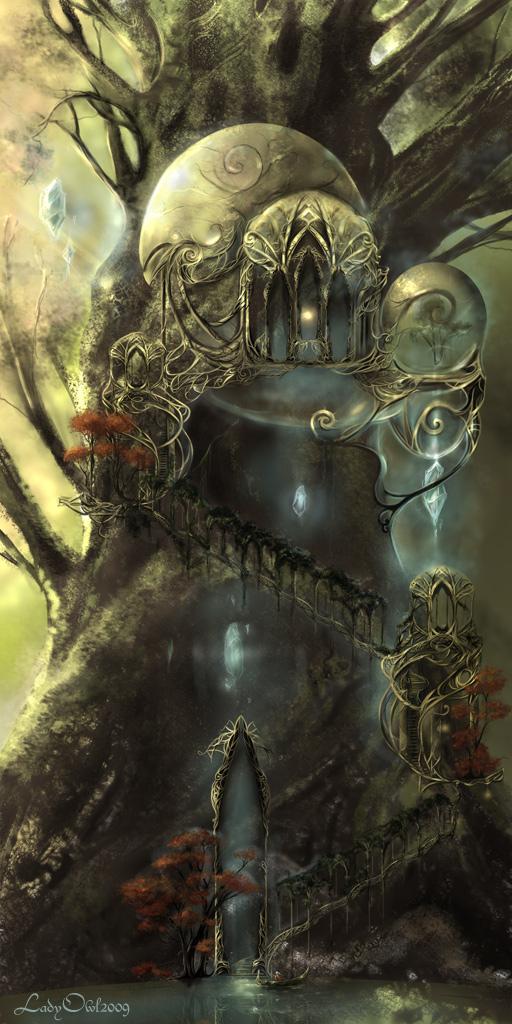 Elfen by LadyOwl