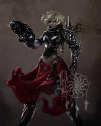 Iron Lady by BettyElgyn